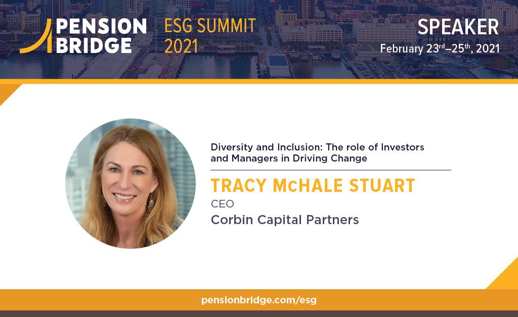 Tracy Stuart Speaks at ESG